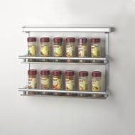 kitchen wall organiser condiments rack