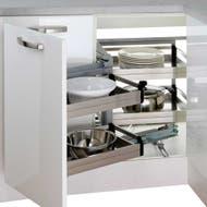 blind corner kitchen storage