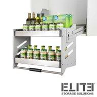 accessible overhead kitchen cupboard storage